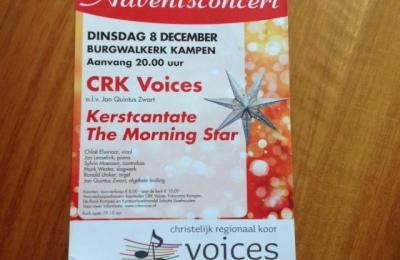 Flyers, posters en toegangskaartjes CRK Voices