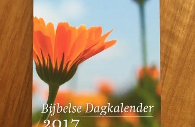 Bijbelse dagkalender 2017